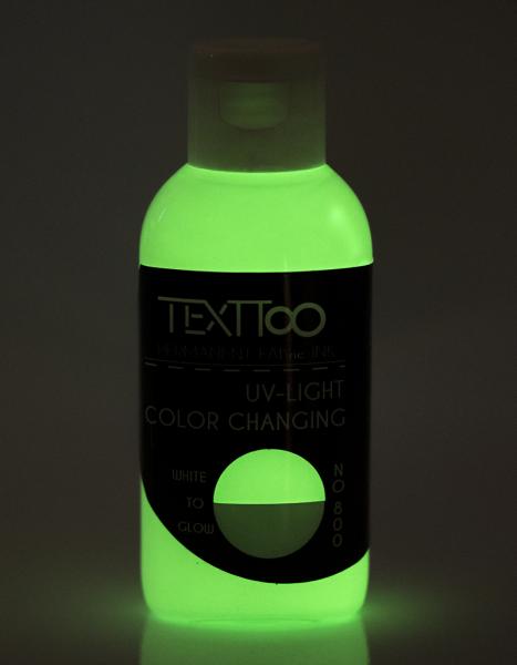 UV Light Nightglow White to Glow