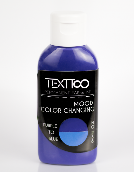 MOOD Color Changing Purple to Blue